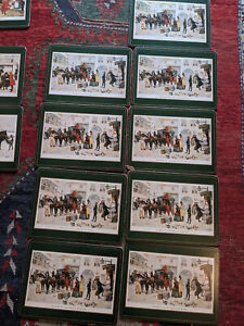 14 Charles Dickens Pimpernel Placemats