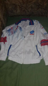 LOTTO BORIS BECKER TENNIS TRACK SUIT  JACKET PANT ITALY