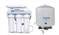 Premier Home Reverse Osmosis RO Water Filter System 5 Stage 100 GPD Made in USA