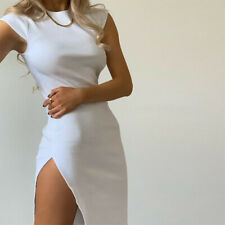 high slit body-con dress  FREE SHIPPING