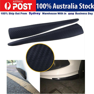 Universal Car Carbon Fiber Strip Bumper Body Corner Protector Guard Edge Scratch