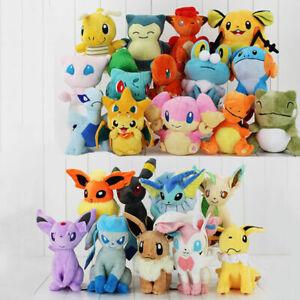 Pokemon Collectible Plush Character Soft Toy Stuffed Doll Teddy Gift UK