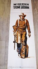 steve mcqueen TOM HORN ! affiche cinema western  model rare