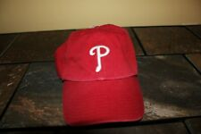 NWT Philadelphia Phillies medium fitted red hat from '47