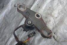 Top triple clamp & ignition sw NO KEY VFR750 94 95 96 97 Honda interceptor #O19