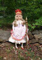 "Rare Alice in Wonderland  Doll ""Alice"" 27""  By Silvestri 1985.  NOS"