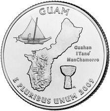 2009 D Guam Territorial Quarter BU