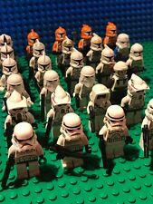 LEGO Star Wars Genuine Figures - Rare Clone Troopers / Snowtroopers etc