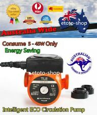 240V Solar Hot Water Inline ECO Circulation Pump 3 Speed, ENERGY SAVING 5 - 45W