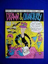 Drawn & Quarterly vol1 no1. Underground / Alternative.  mag  1990 1st. VFN