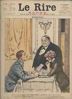 Journal Le RIRE Rouge, édition de guerre N° 182 du 11 mai 1918