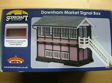 44-0074 Bachmann Scenecraft Downham Market Signal Box Mint Boxed