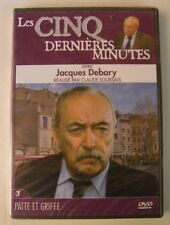 DVD LES CINQ DERNIERES MINUTES - Jacques DEBARY - PATTE ET GRIFFE - N°3 - NEUF