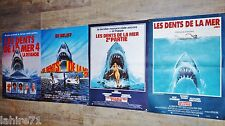 LES DENTS DE LA MER 1.2.3.4   jaws !  steven spielberg affiche cinema