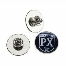 VESPA PIAGGIO PX  METAL PIN BADGE WITH 25mm LOGO