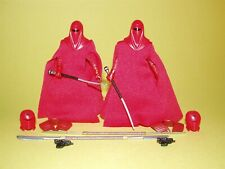 Star Wars TBS The Black Series Walmart Emperor's Royal Guard Lot of 2 Loose