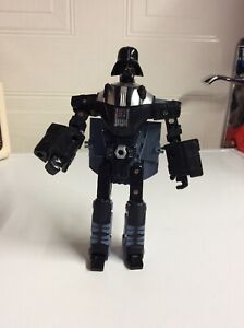 Star Wars Transformers Darth Vader Tie Fighter Figure Incomplete Crossover toy