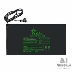 Tapis Chauffant Electronique Semis Coussin de Chauffage Hydroponique Imperméable
