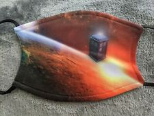 Doctor Who Face Mask Covering Washable with Filter