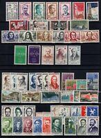 PP128061 / FRANCE / LOT 1958 - 1959 MNH ** CV 140 $