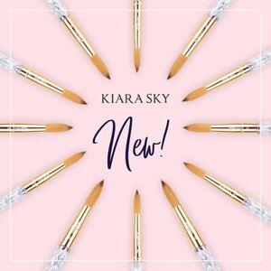 Kiara Sky Acrylic Nail Brush 100% Kolinsky
