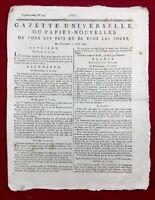 Journée du 20 Juin 1792 Necker Maulde Péronne Château de Banne Franconie Reims