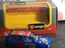BURAGO FIAT TIPO BLUE 1/43 SCALE RALLYE cod 4134 BNIB 67 ENICHEM RARE