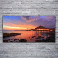 Acrylglasbilder Wandbilder aus Plexiglas® 120x60 Steine Meer Landschaft