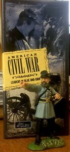 Vintage Confed. General Stonewall Jackson Britains #17007 Leaders in Blue & Gray