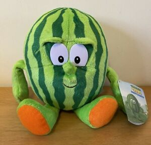 Goodness Gang Bodysquad Watermelon Plush Co Op with Tags Fruit Vegetable Toy