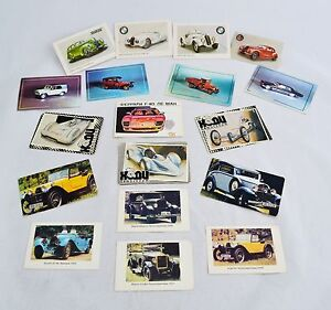 Vintage cards Cars Autocars 1987 1991 1993 calendars Russian Ukrainian USSR US76