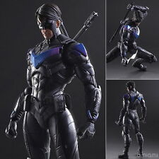 Play Arts Kai Batman Arkham Knight Nightwing Robin Action Figure Toy Doll Model