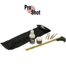 ProShot Deluxe Air Rifle Cleaning Kit .177 .22 Air Gun Includes Oil & Grease