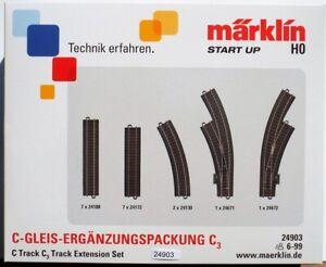 Märklin 24903 Ergänzungspack Gleisset C3 #NEU in Originalverpackung#