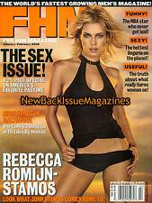 FHM 2/02,Rebecca Romijn,Natalia Cigliuti,February 2002,NEW