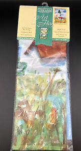 """Toland Art Flag Summer Lighthouse #1277 New In Package Standard 24"""" X 36"""""""