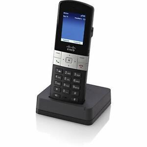 Cisco VoIP SPA302D-G7 Multi-Line DECT Handset Network Phone, Base & Power Supply
