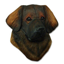 Leonberger Head Plaque Figurine
