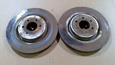 03-16 DODGE VIPER PAIR OF REAR BRAKE ROTORS USED
