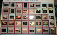 KODAK KODACHROME RED BORDER & OTHERS VINTAGE SLIDE COLLECTION NEW YORK CITY ETC