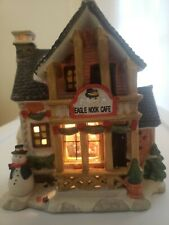 Porcelain Lighted Window House Christmas Streets 2005 collection. New