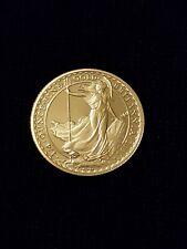 2006 Solid Fine Gold 916.7 UK Britannia Twenty Five Pound Proof Coin