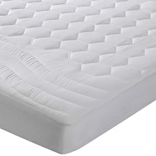 Mattress Pad Twin Extra Long Breathable Soft Quilted Mattress Cover Deep Pocket