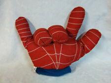 "Marvel 2007 Spider-man 3 The Movie Hand 16"" Plush Soft Toy Stuffed Animal"