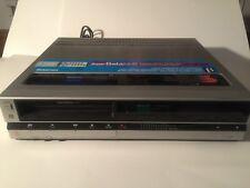 RARE SILVER !!!SONY BETAMAX SL-HF400 Super Beta Hi-Fi Stereo VCR & HG  Recorder