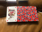 Bin 3 X Plastic Coated Playing Cards Union Jack Pound Signs Souvenir Gift Elgate