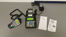 Hypercom T7 Plus Credit Card Terminal and S9 pin-pad. Original boxes, etc.