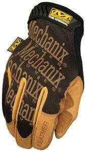Mechanix Wear LMG-75-009 The Original Leather Work Gloves Medium Brown/Black