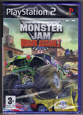 PS2 Monster Jam Urban Assault (2009), UK Pal, Brand New & Sony Factory Sealed