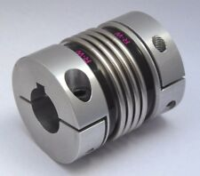 BKL-60/79-with 28+28mm bores with keyway in 1 end R+W metal bellows coupling